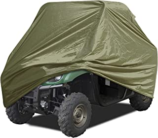 EliteShield Deluxe All Weather Protection UTV Cover Olive Color Fits UTV up to 120