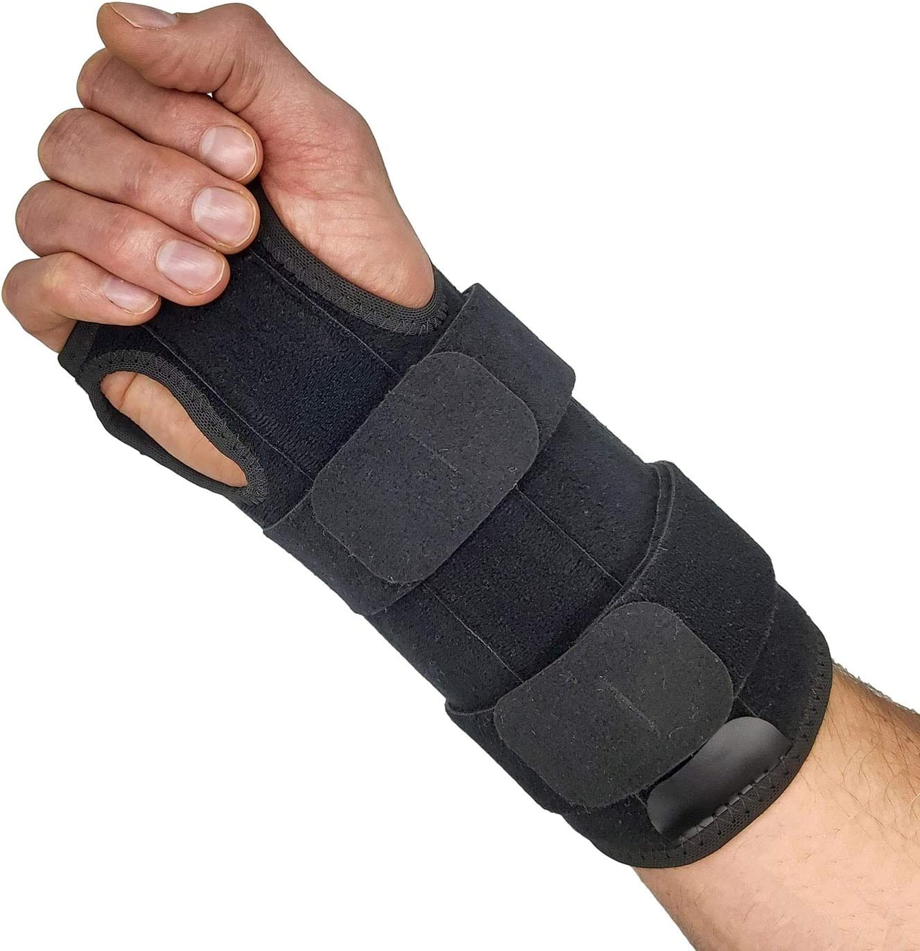 Wrist Brace for Carpal Tunnel Relief – Reversible Hand or Wrist Splint Carpal Tunnel Brace for Left or Right Hand Support Forearm Brace & Wrist Compression for Arthritis Wrist Tendonitis (Large): Health & Personal Care