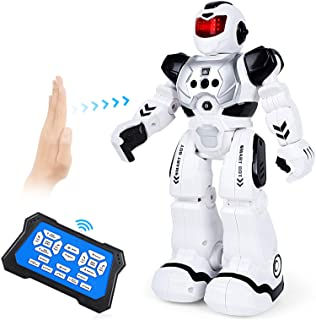 ARANEE Robot de Control Remoto, RC Robot Juguete Inteligente y programable Gestos Control Robots para Niños(Negro)