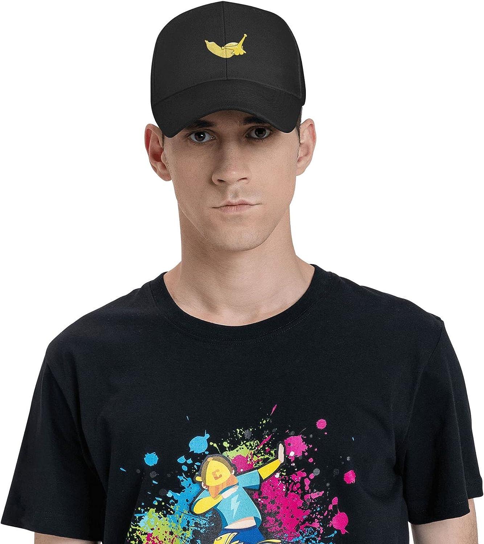 Bananas Couple Heart Banana Hat Baseball Cap, Adjustable Trucker Hat Black Dad Hat Polo for Adults Men Women Outdoor