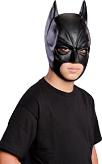 Rubie's The Dark Knight Rises: Batman 3/4 Mask, Child Size (Black) 4887