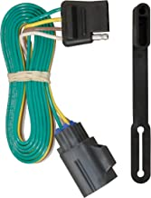 CURT 56245 Vehicle-Side Custom 4-Pin Trailer Wiring Harness for Select Chevrolet Traverse, GMC Acadia, Buick Enclave
