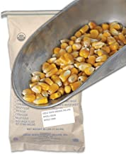 Great River Organic Milling, Whole Grain, Whole Corn, Organic, Non-GMO, 25-Pounds