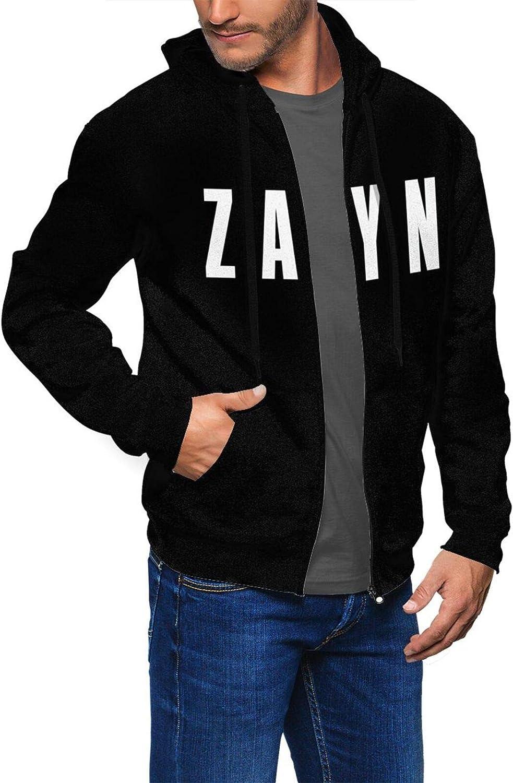 Zayn-Malik Logo Hombre Sudaderas con Capucha de Moda con ...