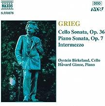 Grieg: Cello Sonata, Op. 36 / Piano Sonata, Op. 7