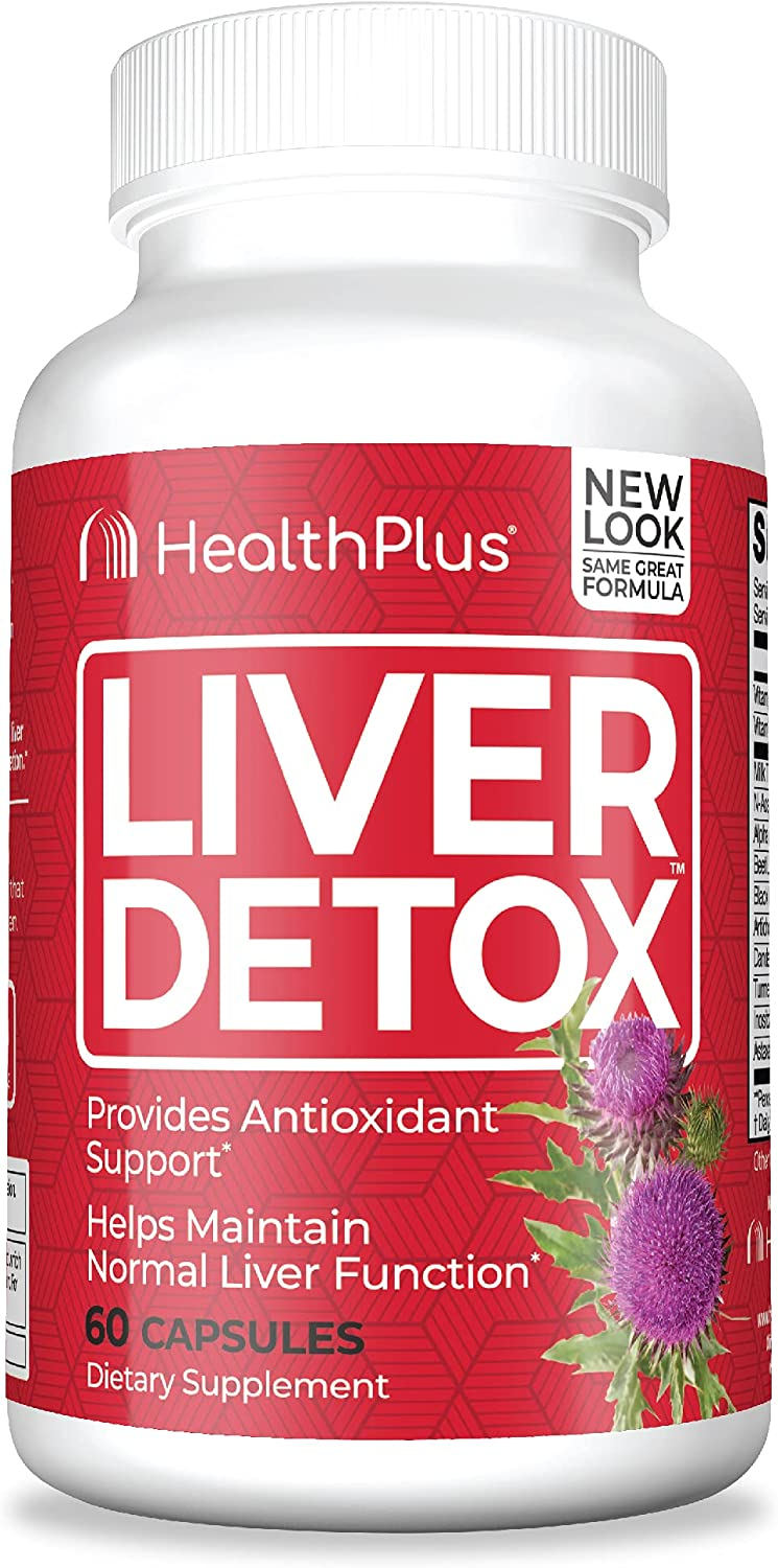 Health Ranking TOP7 Plus Liver Cleanse Ranking TOP20 60-Count Capsules