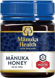マヌカヘルス マヌカハニー MGO115+ / UMF6+ 250g [ 正規品 ニュージーランド産 ]