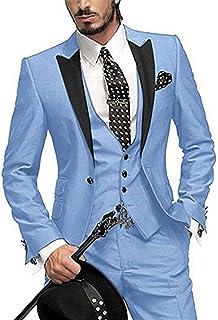 Vestito Matrimonio Uomo Azzurro : Amazon abito azzurro uomo abbigliamento
