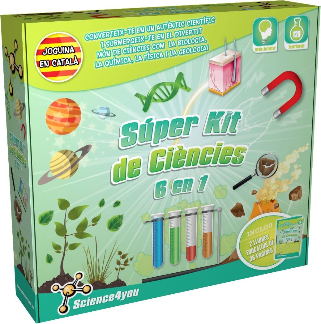 Science4you Super Science Now free shipping Kit Version - Ultra-Cheap Deals Catalan