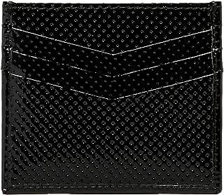 RFID Pierced Black Cardholder