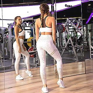 Workout Leggings Printed Leggings Women Fitness Leggings For Women Pink Jeggings Sportswear High Waist Exercise Leggings W...
