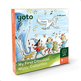 Yoto 'My First Classical Music Collection' Card Pack for Yoto Player and Yoto App – Includes 10 Cards with Albums by Beeth...