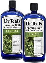 Dr. Teal's Foaming Bath, Eucalyptus Spearmint, 34 Fl Oz (Pack of 2)