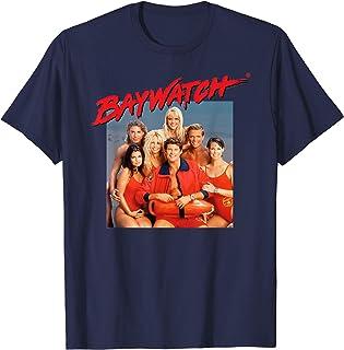 Adulte T-Shirt Plage Américain Classiques Baywatch