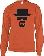 Amdesco Men's Heisenberg Long Sleeve Shirt