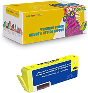 New York TonerTM New Compatible 1 Pack CD974AN 920 XL High Yield Inkjet For HP Officejet : OfficeJet 6000 | OfficeJet 6500 | OfficeJet 6500a | OfficeJet 6500a Plus. -- Yellow