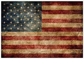 Allenjoy 7x5ft Independence Day Backdrop for Photography American Flag Retro Blue Patriotic 4th of July Celebration Stars and Stripes Banner Photo Studio Booth Newborn Baby Shower Background Photocall