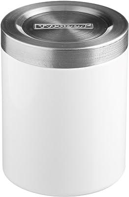 Typhoon Hudson Stainless Steel Stacking Storage Box, 750ml, White