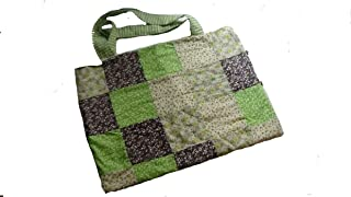 Bolsa de tela de algodón de distintos colores (patchwork) Silvys handmade