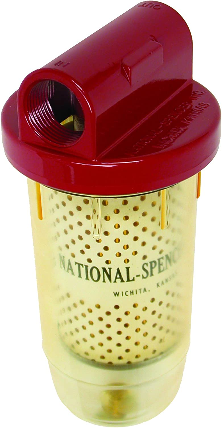 National Spencer Colorado Genuine Free Shipping Springs Mall Ns10 Fuel Tank Filter 1 NPT Inch Unit 6 Case of