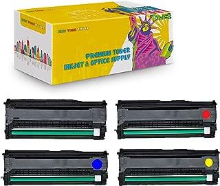 New York TonerTM New Compatible 4 Pack 43460205 43460206 43460207 43460208 High Yield Drum For OKI : C3400 | C3400n. --Black Cyan Magenta Yellow