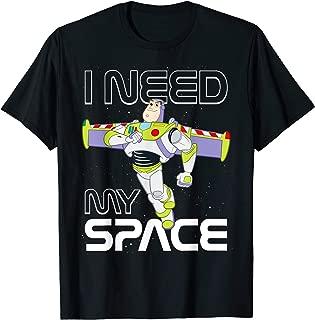 Disney Pixar Toy Story Buzz Lightyear I Need My Space T-Shirt