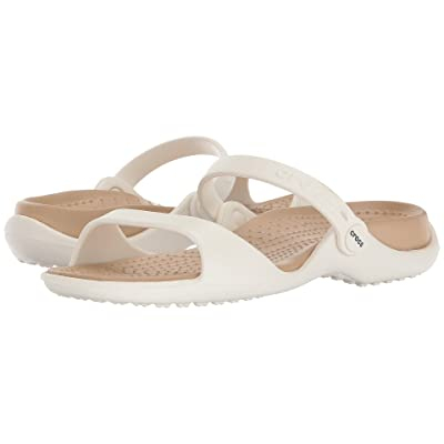 Crocs Cleo (Oyster/Gold) Women