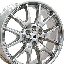 OE Wheels 20 Inch Wheel Fits 6-Lug Cadillac SRX Saab 9-4 SRX Style CA12 Polished SKB 20x8 Rim Hollander 4709