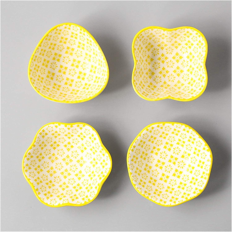 4 National uniform free shipping pcs set Ceramic Sauce Dish Glazed Colored Sushi Cold Ranking TOP6 Japanese