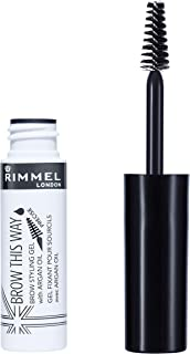 Rimmel London, Brow This Way Eyebrow Gel with Argan Oil, Clear