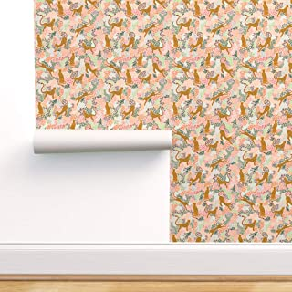 Wallpaper Roll Leopard Leopard Panther Animal Cheetah Punk 24in x 27ft