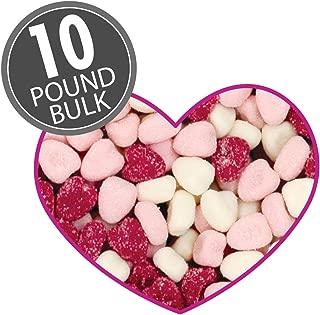 Petite Sour Hearts - 10 lbs bulk