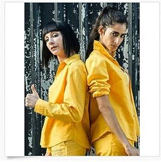 Hi-Vis IN Maggie Civantos Najwa Nimri Maca Saray Alba Flores Serie Póster Impresión en lienzo (60X80Cm) -24x32 Pulgadas Si...