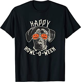Labrador Retriever Pumpkin   Black Lab Happy Howl-o-ween T-Shirt
