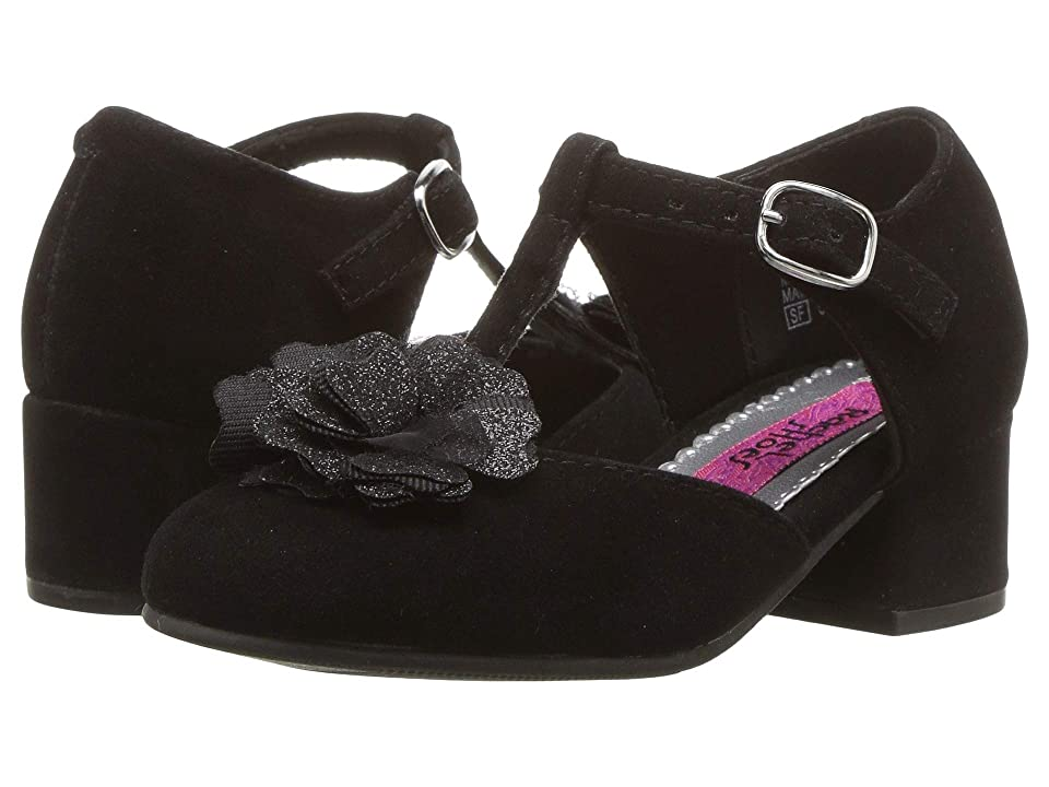 Rachel Kids Lil Elena (Toddler/Little Kid) (Black Velvet) Girl
