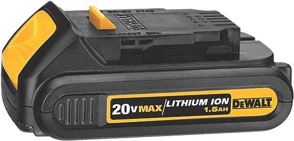 DEWALT 20V MAX Battery Compact 1 5Ah DCB201