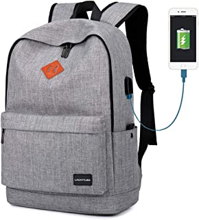 School Backpack, Lightweight Student Laptop Bookbag for Boys and Girl