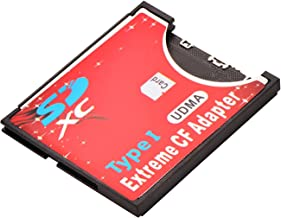 Guangyuweiye SDXCF SD SDHC SDXC to CF Type I Extreme/Ultimate Compact Flash Card Adapter
