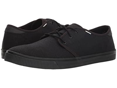 TOMS Carlo (Black/Black Heritage Canvas (Vegan)) Men