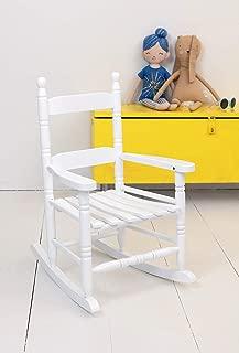 Jack-Post KN-10W Classic Child's Porch Rocker White