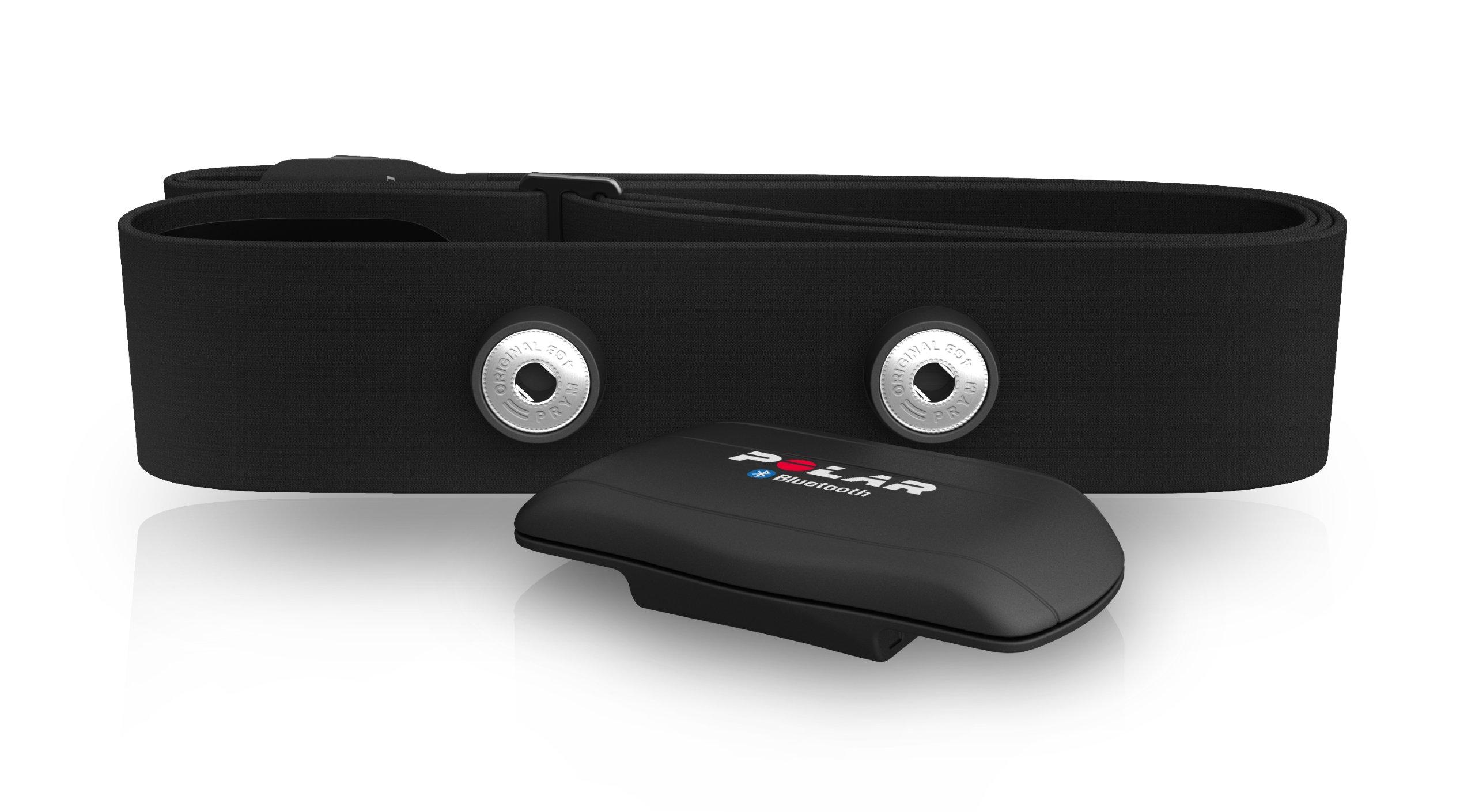 Polar WearLink+ Bluetooth Android/Symbian Compatible Sensor transmisor de frecuencia cardíaca, Unisex, Negro, M-XXL: Amazon.es: Deportes y aire libre