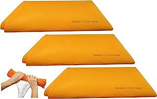 3pk Original German Shammy Towels Super Absorbent Chamois Cloths Large Size 20×27..