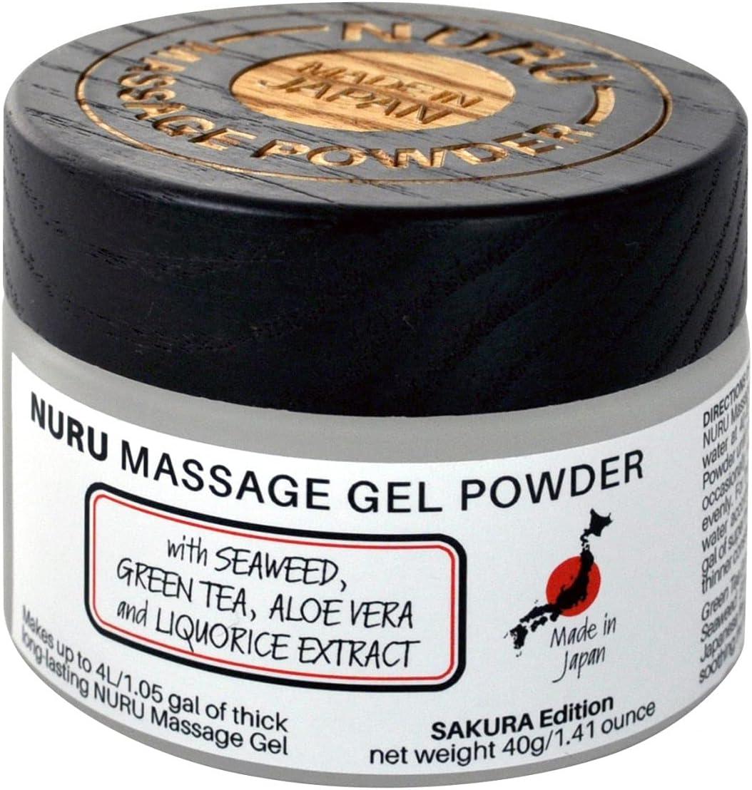 Sakura Edition Nuru Massage Gel Arlington Mall Powder Aloe Ranking integrated 1st place Seaweed Vera 40g