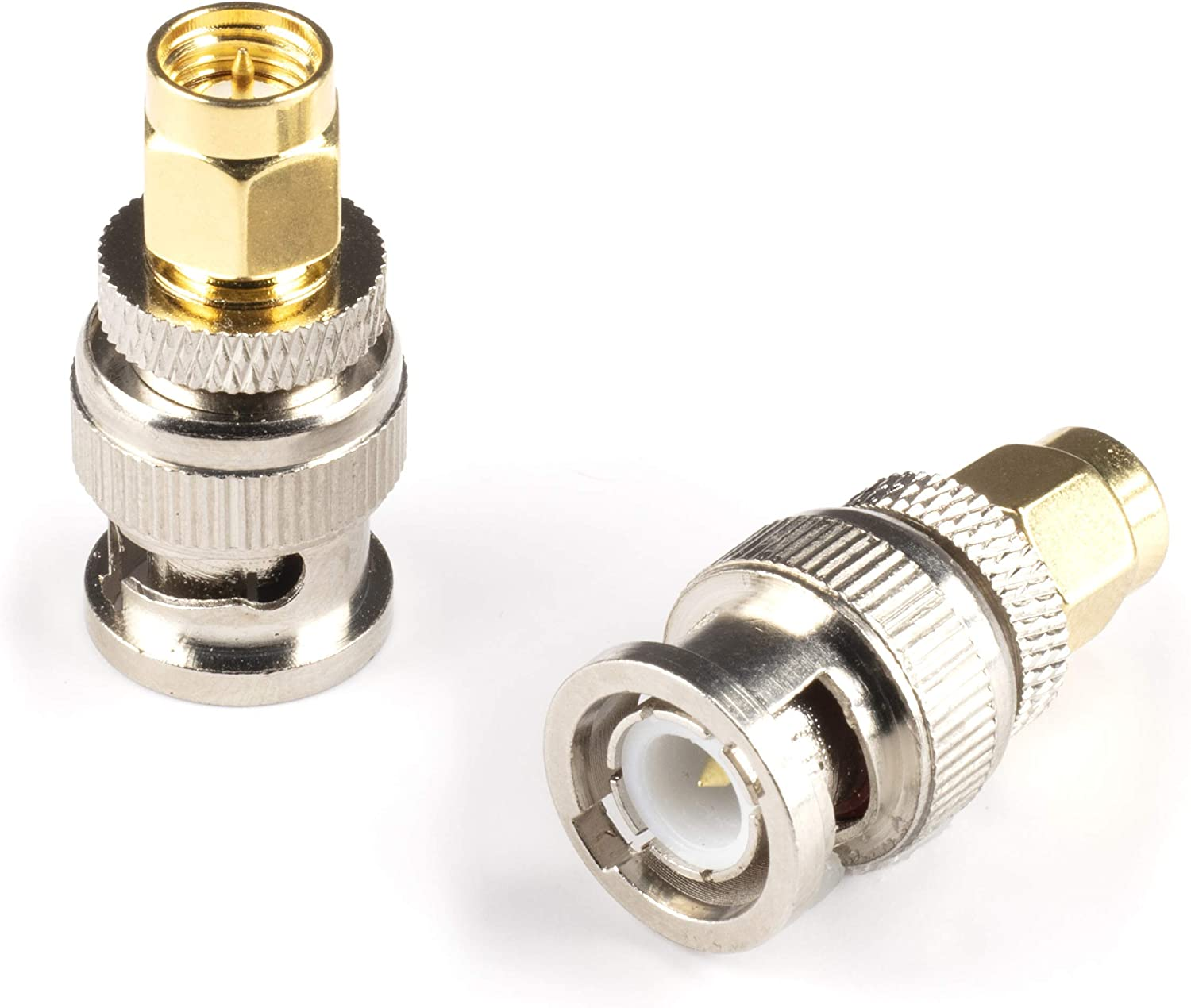 Gold Milwaukee Mall SMA Male Ranking TOP18 to BNC Adapter Pack - 10 Fe Coupler