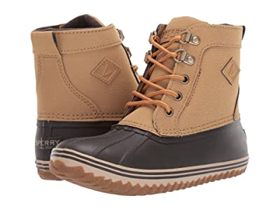 Sperry Kids Bowline Boot (Little Kid/Big Kid) (Tan/Brown) Boy