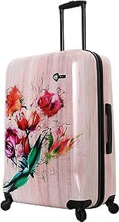 Mia Toro Paola Painted Flowers, Wood Humbird (Multi) - M1347-28IN-PPFNN