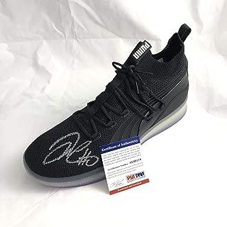 DeMarcus Cousins signed PUMA shoe Warriors Autographed Sneaker - PSA/DNA Certified - Autographed NBA Sneakers