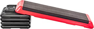The Step Freestyle Aerobic Platform, Red – Health Club Size for Intense and Diverse Workouts