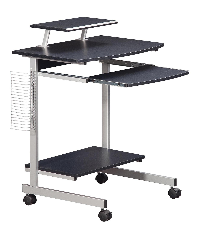 small desk with wheels amazon com rh amazon com computer desk on wheels with top shelf computer desk on wheels amazon