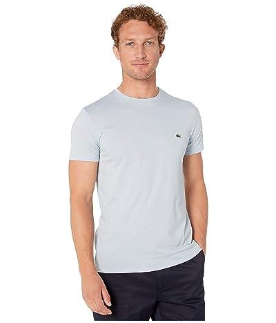 Lacoste Short-Sleeve Pima Jersey Crewneck T-Shirt (Breeze) Men